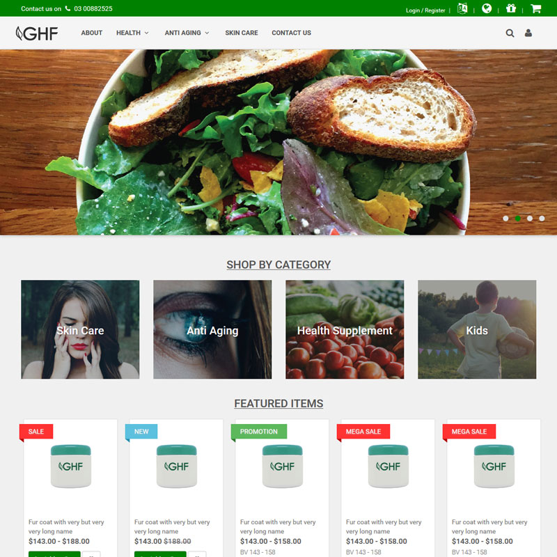 GHF- Great Health Farm
