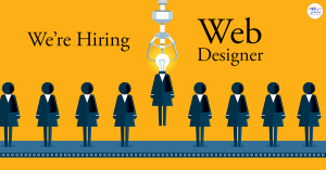 We're Hiring Creative Web Designer